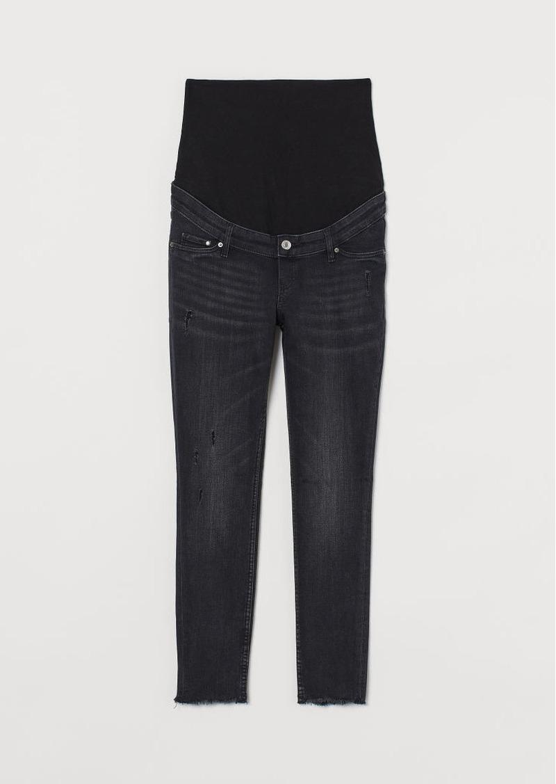 H & M - MAMA Skinny Ankle Jeans - Black