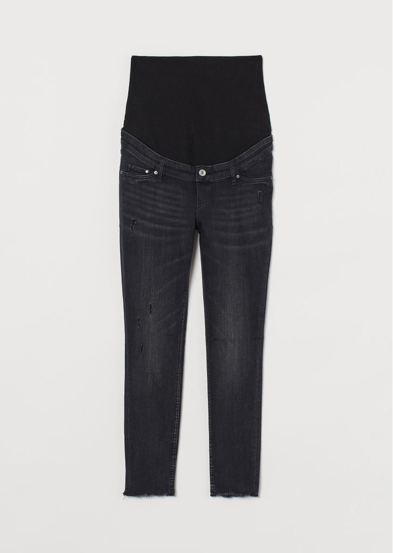 H&M H & M - MAMA Skinny Ankle Jeans - Black