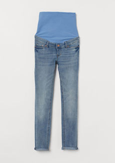 H&M H & M - MAMA Skinny Ankle Jeans - Blue