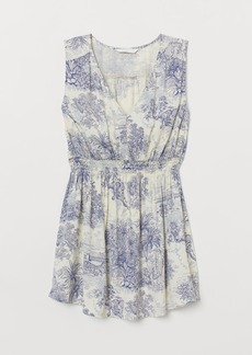 H&M H & M - MAMA Sleeveless Blouse - Blue