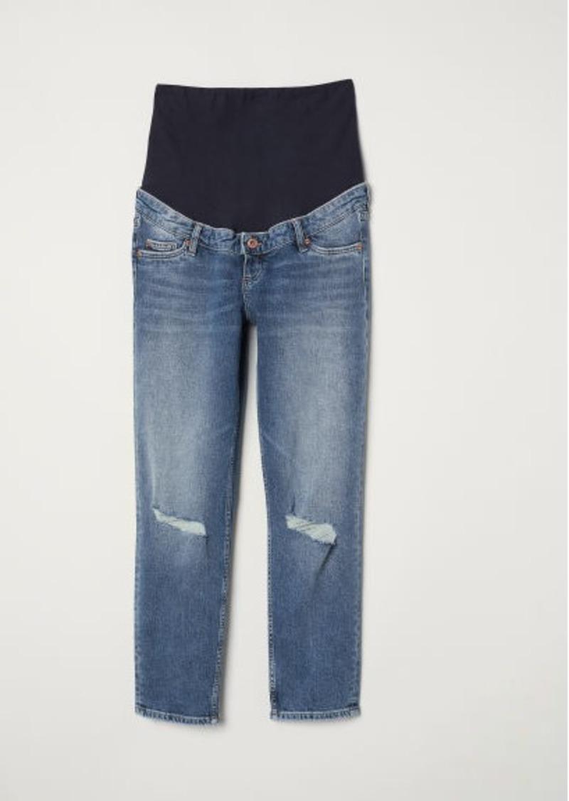 H&M H & M - MAMA Slim Ankle Jeans - Blue