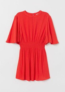 H&M H & M - MAMA Smocked Blouse - Red