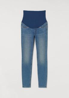 H&M H & M - MAMA Super Skinny Jeans - Blue