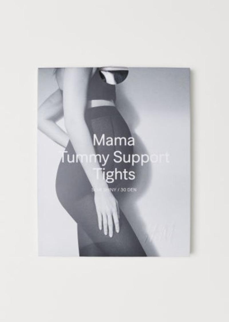 H&M H & M - MAMA Support Tights 30 Denier - Black