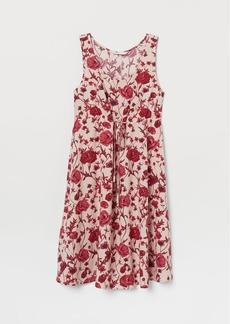 H&M H & M - MAMA Viscose Dress - Pink