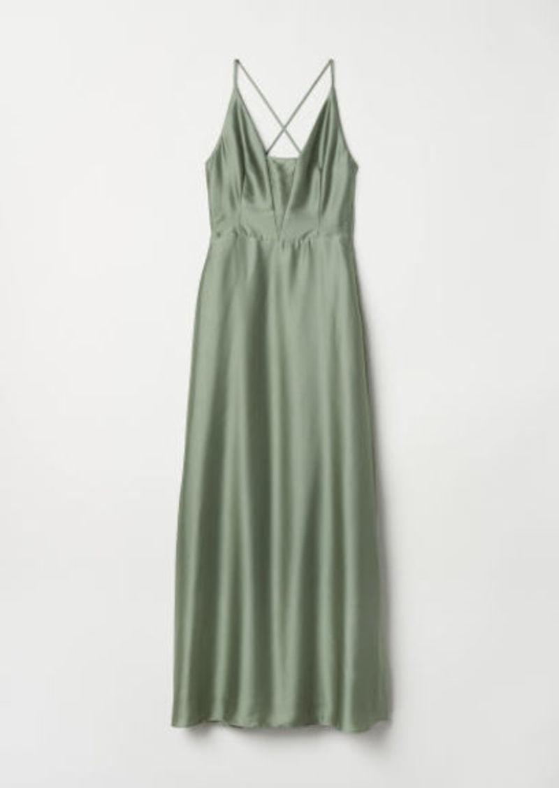 H&M H & M - Maxi Dress - Green