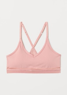 H&M H & M - Medium Support Sports Bra - Pink