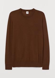 H&M H & M - Merino Wool Sweater - Beige