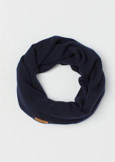 H&M H & M - Merino Wool Tube Scarf - Blue
