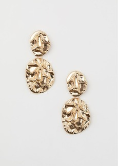 H&M H & M - Metal Earrings - Gold