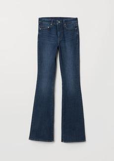 H&M H & M - Mini Flare High Jeans - Blue