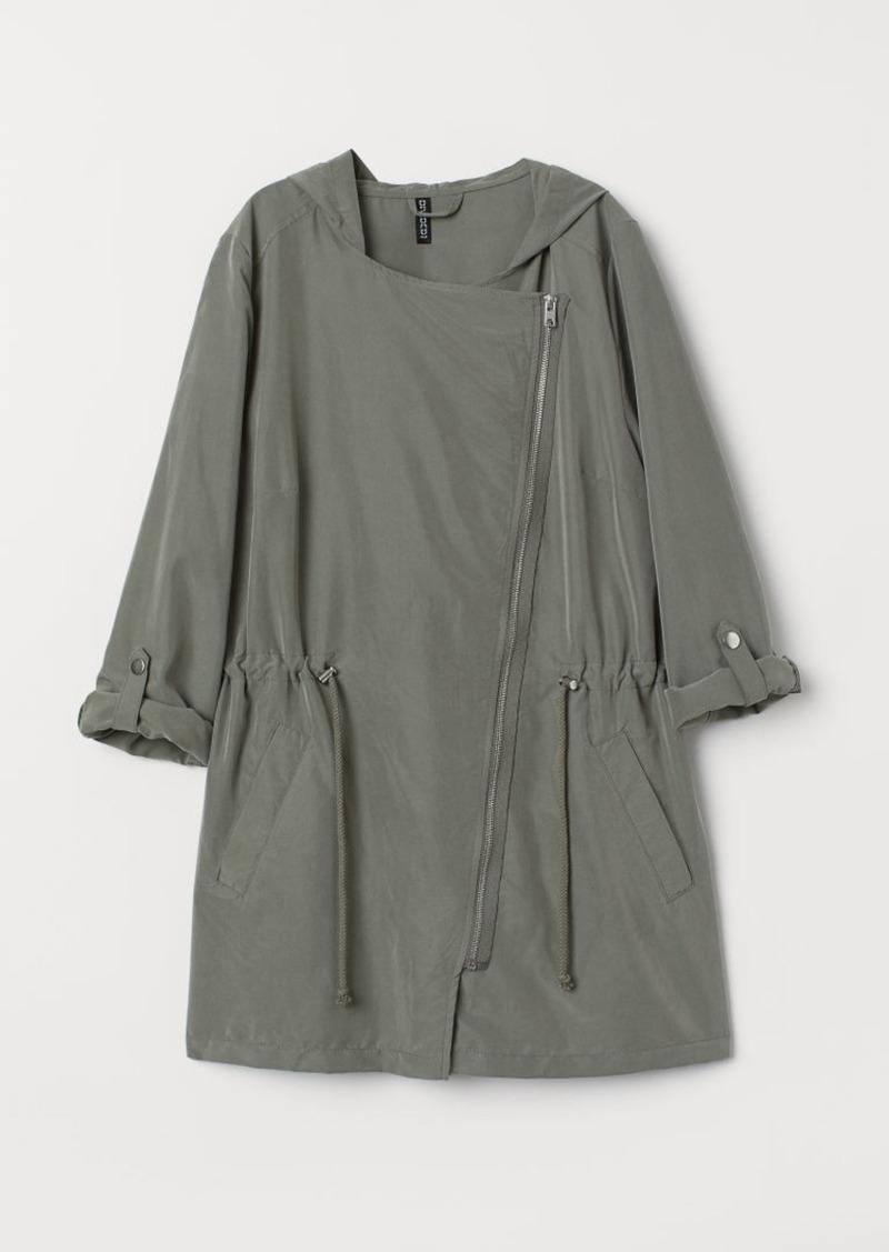 H&M H & M - Modal-blend Parka - Green