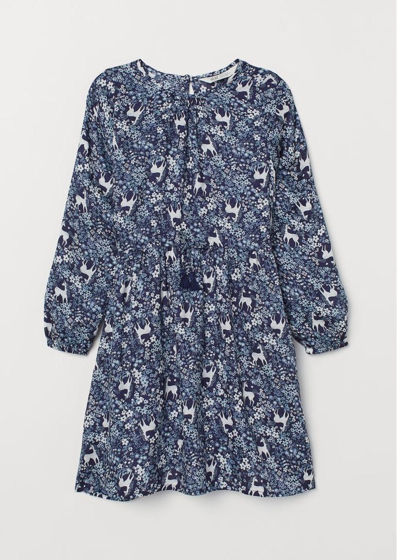 H&M H & M - Modal Dress - Blue