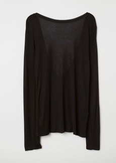 H&M H & M - Modal top - Black