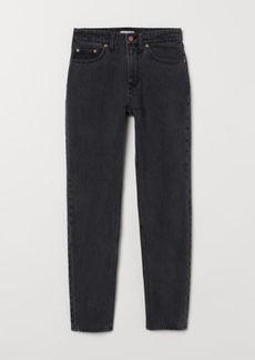 H&M H & M - Mom Jeans - Black