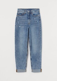 H&M H & M - Mom High Ankle Jeans - Blue