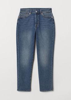 H&M H & M - Mom Jeans - Blue