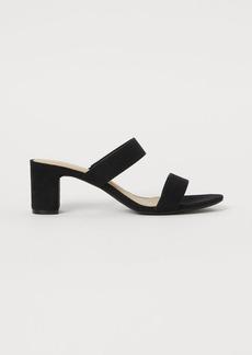 H&M H & M - Mules - Black