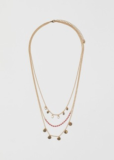 H&M H & M - Multi-strand Necklace - Red
