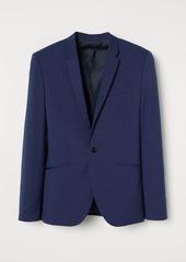 H&M H & M - Muscle Fit Blazer - Blue