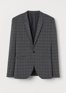 H&M H & M - Muscle Fit Blazer - Gray