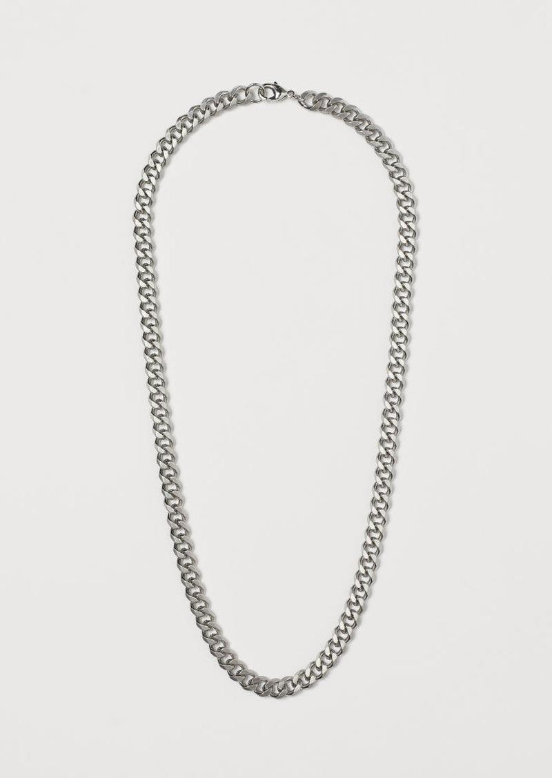 H&M H & M - Necklace - Silver