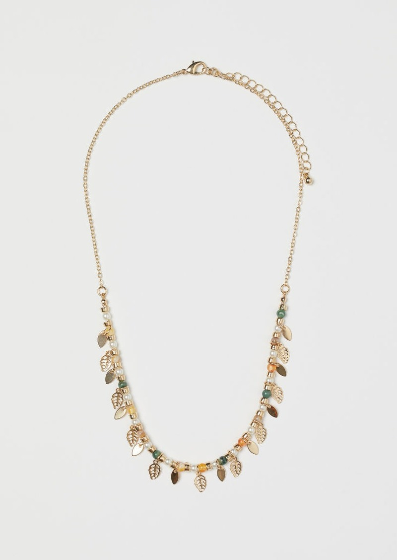 H&M H & M - Necklace with Pendants - Gold