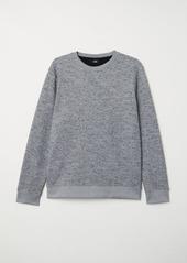 H&M H & M - Nepped Sweatshirt - Gray
