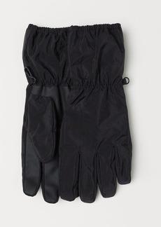 H&M H & M - Nylon Gloves - Black