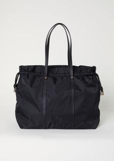 H&M H & M - Nylon Weekend Bag - Black