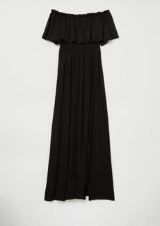 H&M H & M - Off-the-shoulder Dress - Black