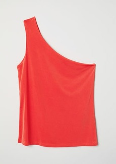 H&M H & M - One-shoulder Top - Orange