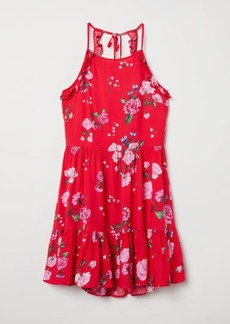 H&M H & M - Open-backed Dress - Red