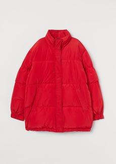 H&M H & M - Oversized Jacket - Red