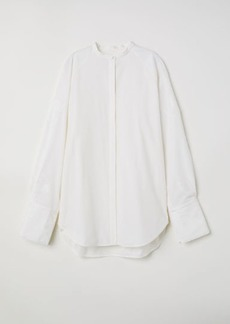 H&M H & M - Oversized Shirt - White