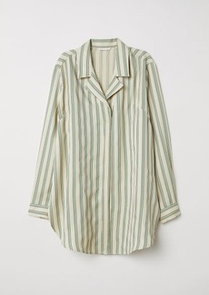 H&M H & M - Oversized Shirt - Yellow