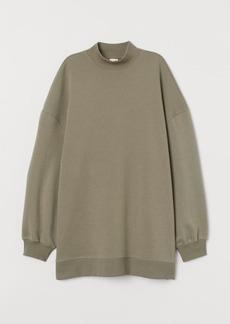 H&M H & M - Oversized Sweatshirt - Green