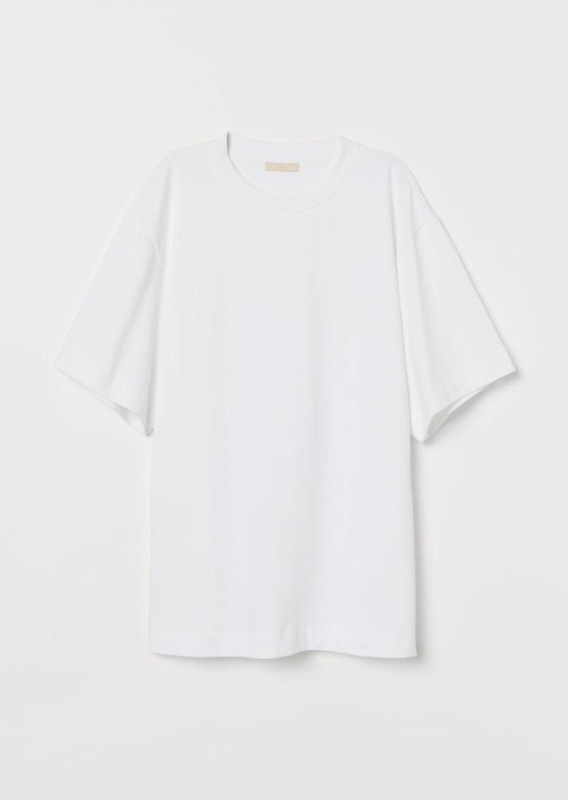 H&M H & M - Oversized T-shirt - White