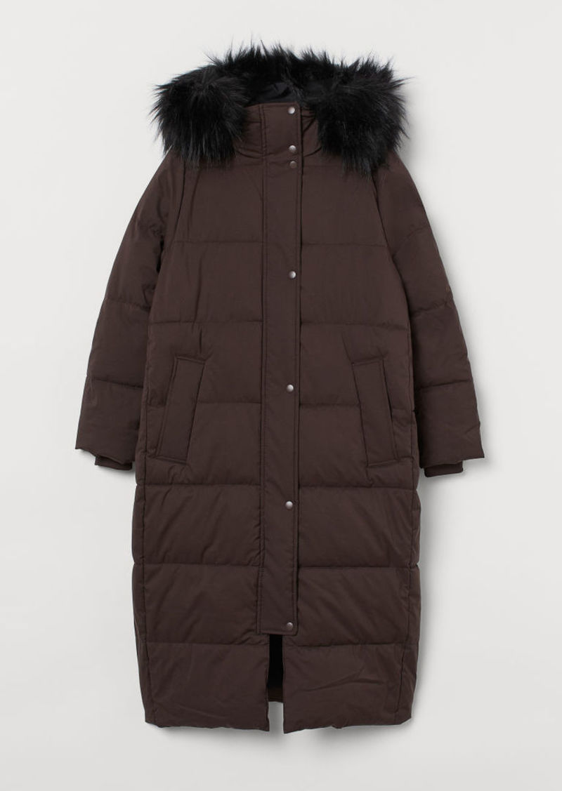 H&M H & M - Padded Jacket - Brown