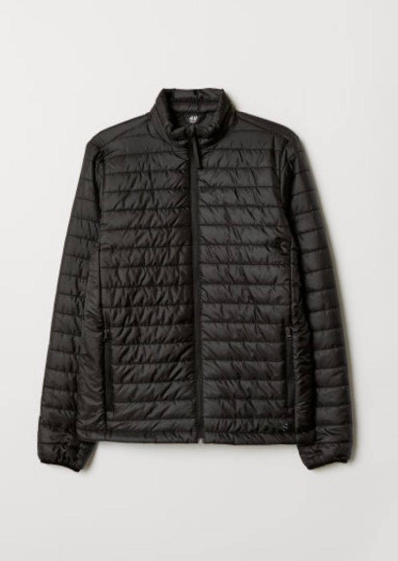H&M H & M - Padded Outdoor Jacket - Black