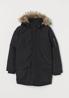 H&M H & M - Padded Parka - Black