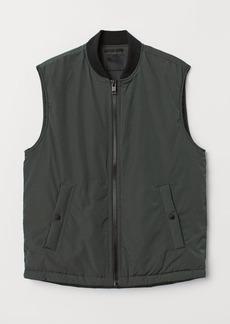 H&M H & M - Padded Vest - Beige