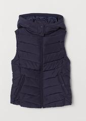 H&M H & M - Padded Vest - Blue
