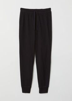 H&M H & M - Pajama Pants - Black