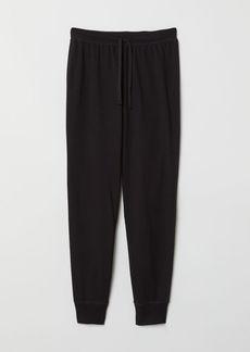 H&M H & M - Pajama Pants - Black