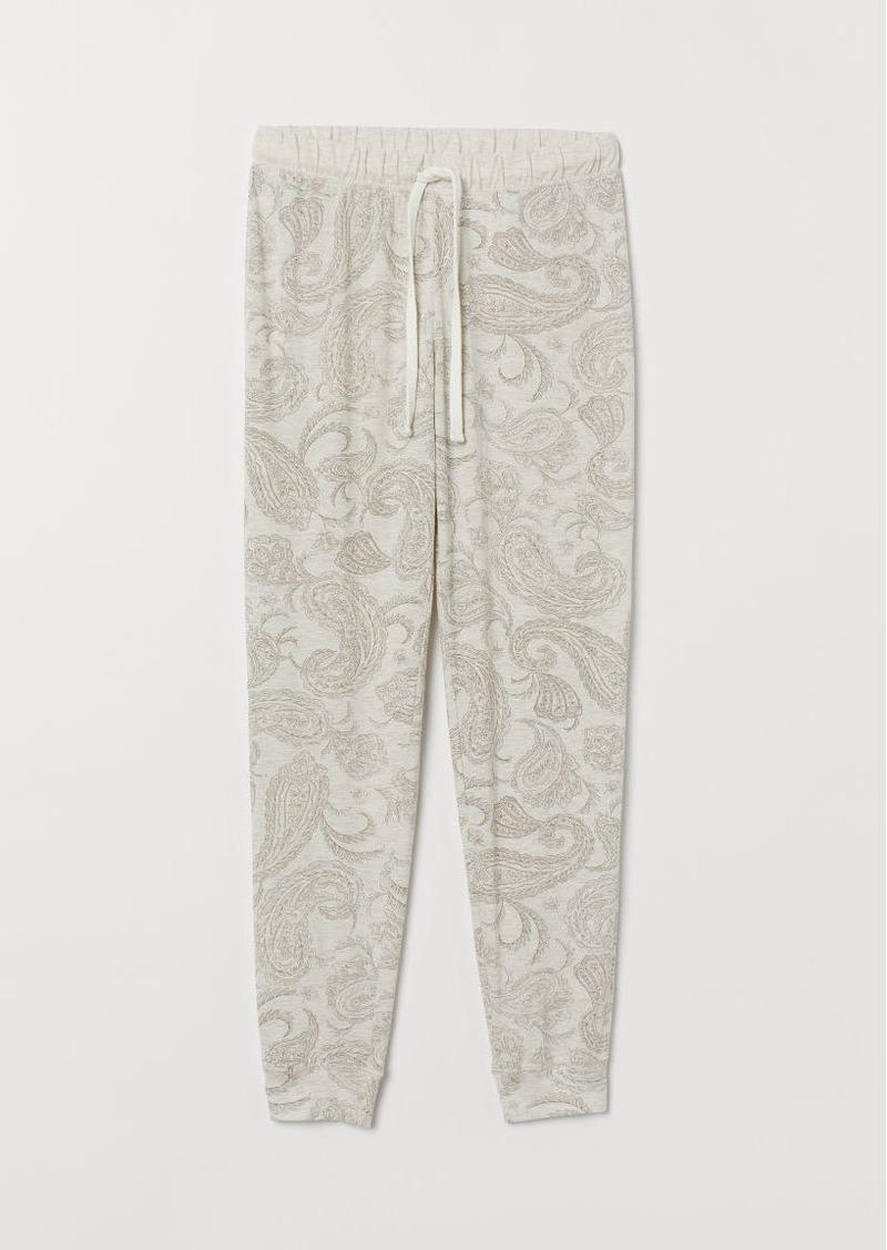 H&M H & M - Pajama Pants - Brown
