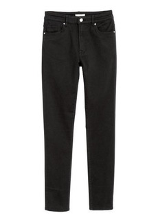 H&M H & M - Pants Skinny fit - Black