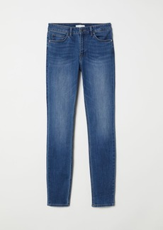 H&M H & M - Skinny Fit Pants - Blue