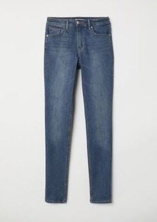 H&M H & M - Pants Skinny fit - Blue