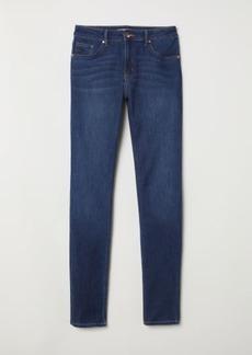 H&M H & M - Skinny Fit Pants - Blue